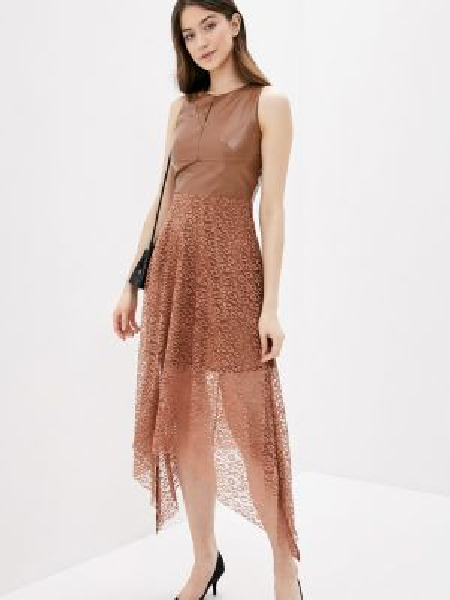 Платье - коричневое Vagi