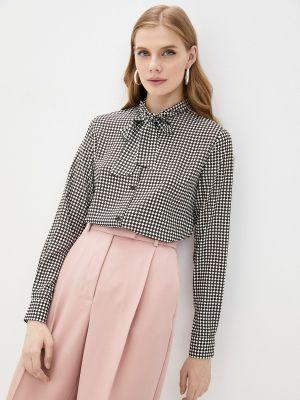 Черная весенняя блузка Mondigo