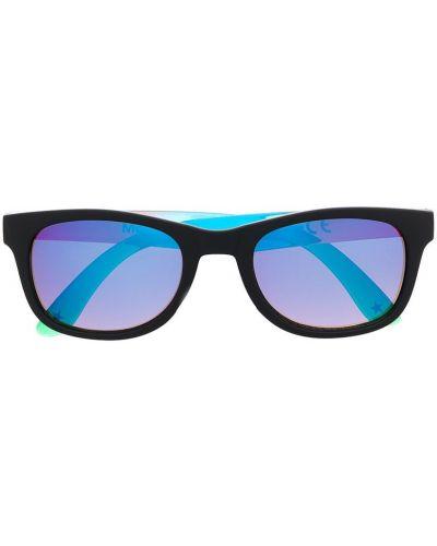 Черные солнцезащитные очки прямоугольные Molo