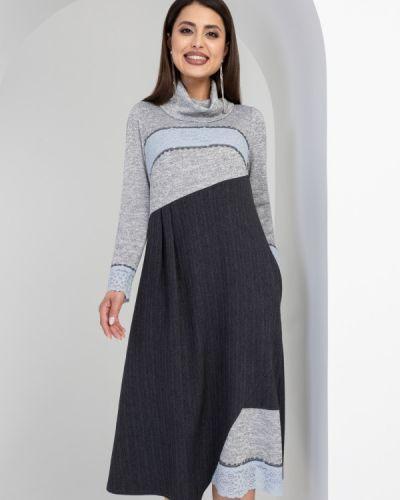 Ажурное платье в стиле бохо с воротником Charutti