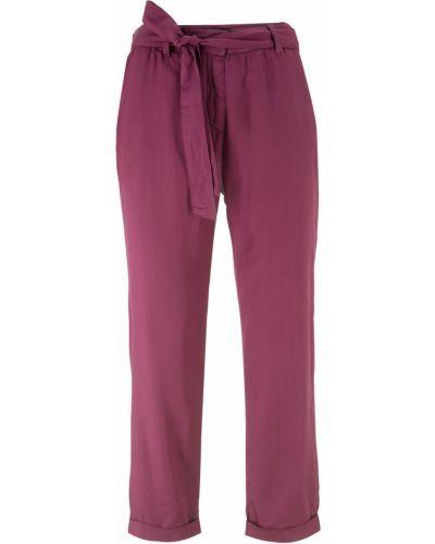 Свободные брюки со складками Bonprix