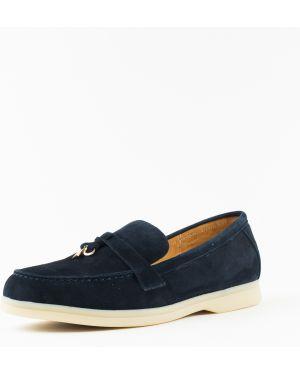 Замшевые туфли бордовый Vensi