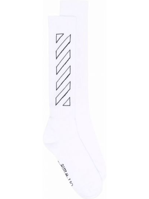 Białe skarpety bawełniane Off-white