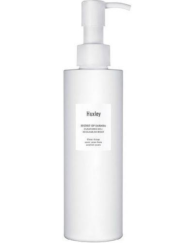 Skórzany ciepły zielony żel do mycia twarzy czyszczenie Huxley