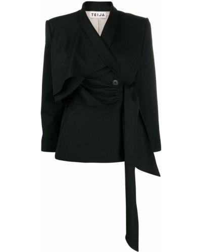 Черный пиджак Teija