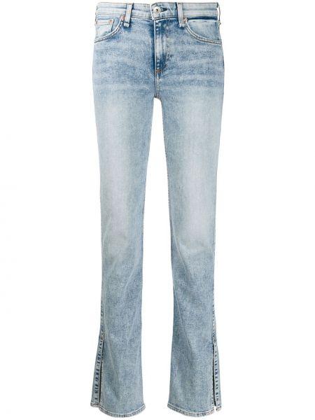 Прямые джинсы с манжетами на пуговицах Rag & Bone