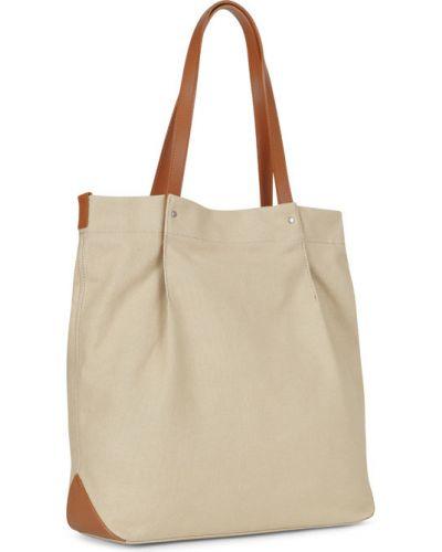 Кожаный сумка шоппер летняя Ecco