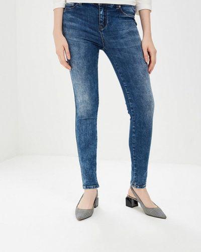 Синие джинсы-скинни Gaudi