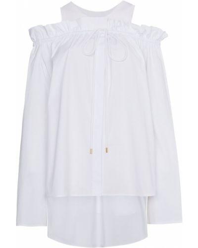 Biała bluzka bawełniana Alberta Ferretti