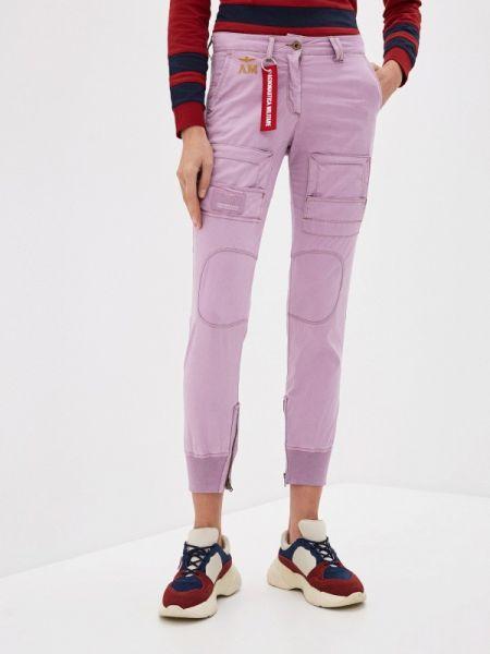 Розовые брюки Aeronautica Militare
