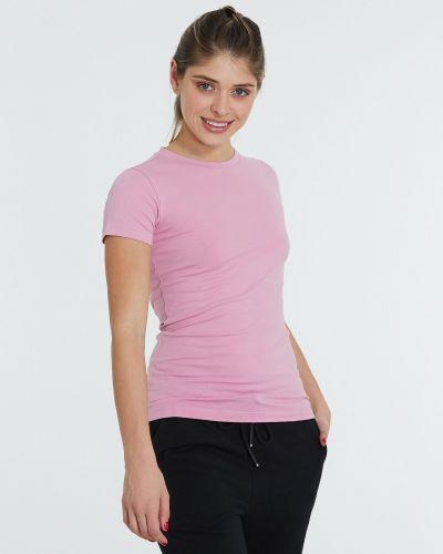 Розовая футболка Piazza Italia