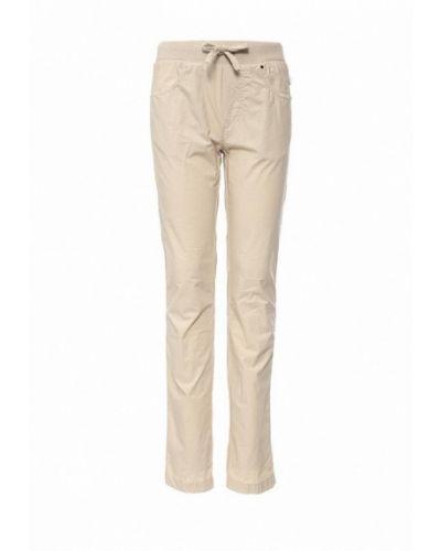 Бежевые брюки Il Gufo