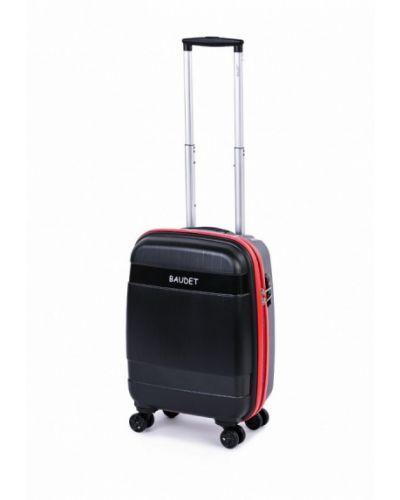 Черный чемодан Baudet