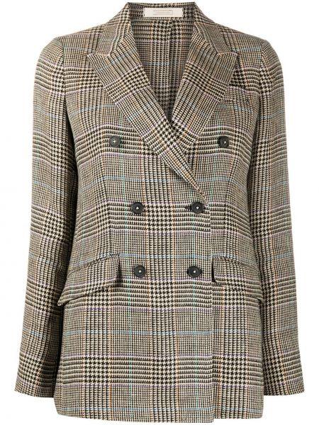 Пиджак двубортный на пуговицах Massimo Alba