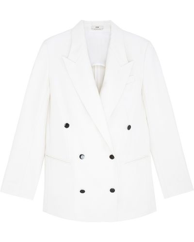 Шерстяной пиджак - белый Edun