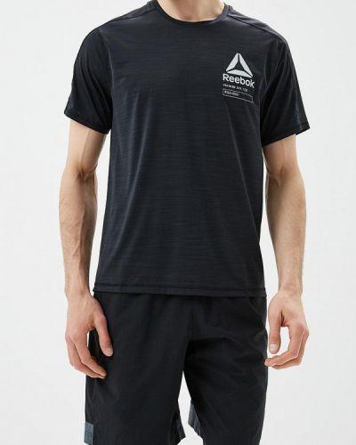 Черная спортивная футболка Reebok