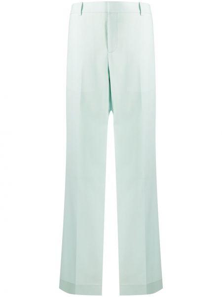 Bezpłatne cięcie szerokie spodnie z wiskozy bezpłatne cięcie z paskiem Givenchy