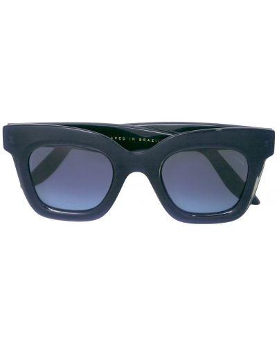 Солнцезащитные очки черные хаки Lapima