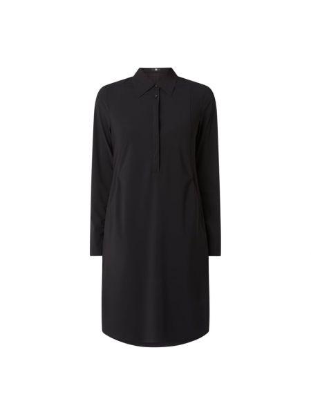 Czarna sukienka rozkloszowana Riani