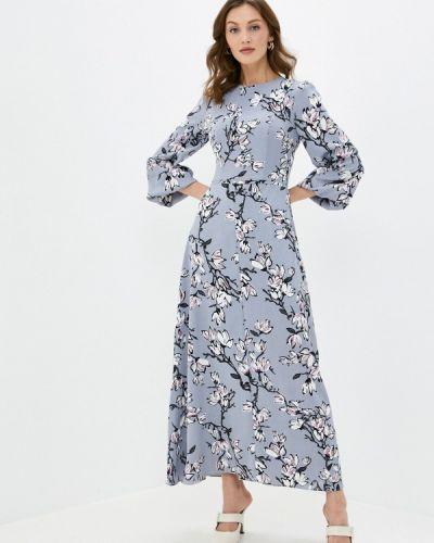 Прямое серое платье Cavo