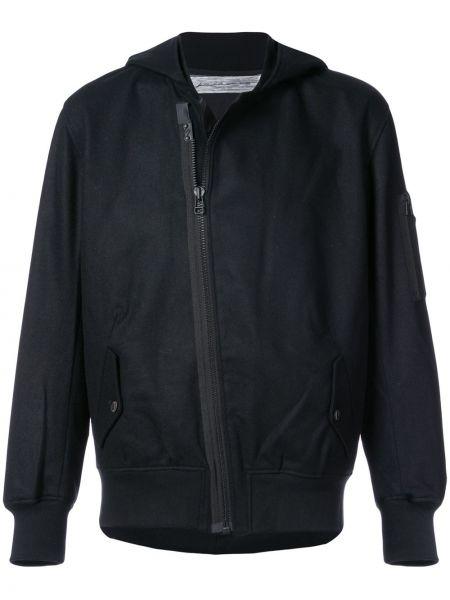 Нейлоновая черная куртка с капюшоном Individual Sentiments