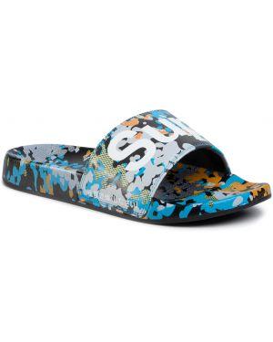 Sandały skórzany plaża Superdry