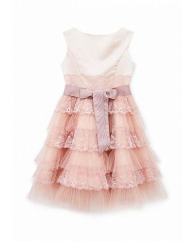 Розовое нарядное платье Love Story