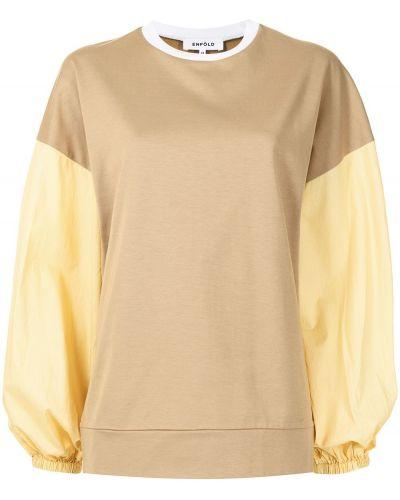 Bluza dresowa - biała Enfold
