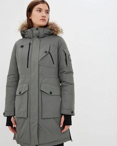 Утепленная куртка - серая Snowimage