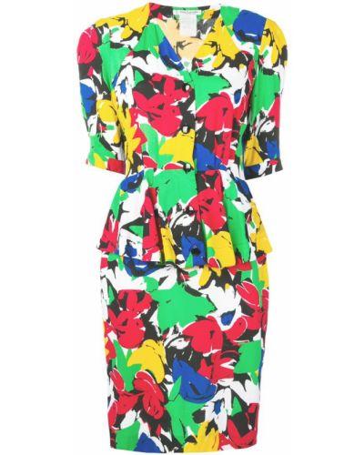 Платье винтажное на молнии Guy Laroche Pre-owned