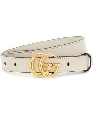 Ремень винтажный кожаный Gucci