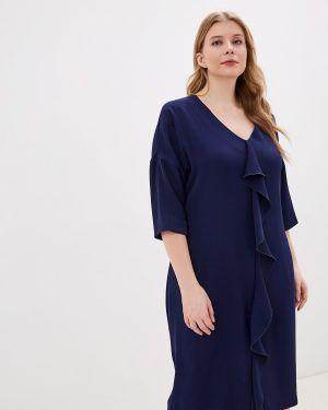 Синее повседневное платье Intikoma