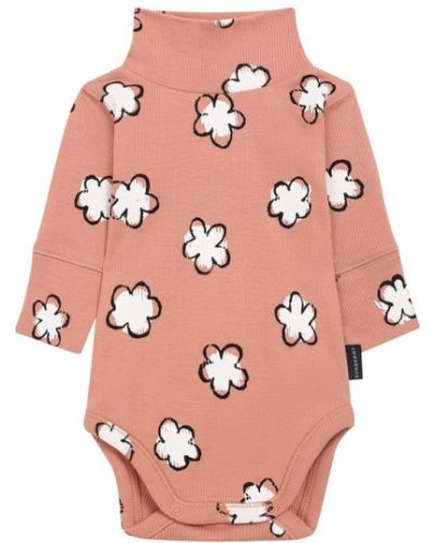 Розовое боди Burberry