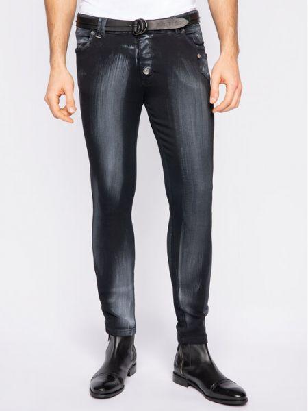 Czarne jeansy Rage Age