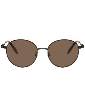 Okulary przeciwsłoneczne czarny Alexander Mcqueen