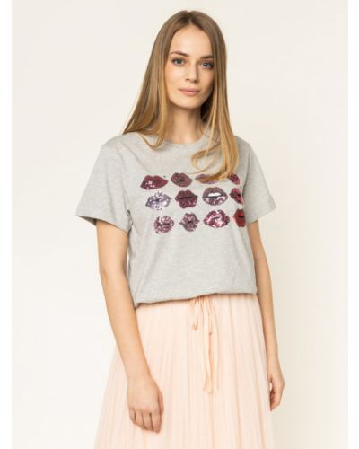 Szara t-shirt Escada Sport
