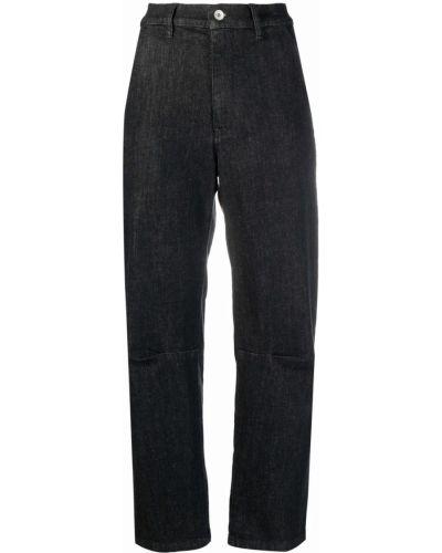 Czarne spodnie bawełniane Barena