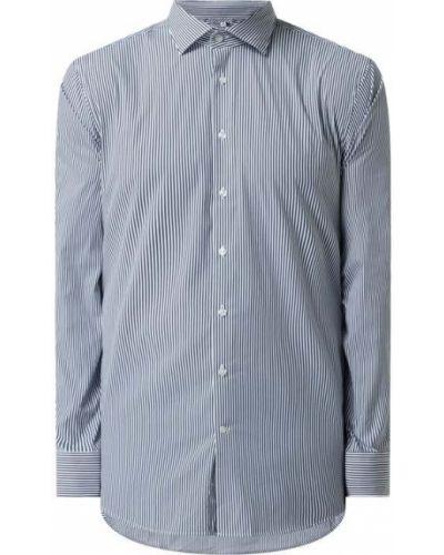 Niebieska koszula z długimi rękawami Seidensticker