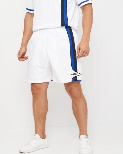 Белые шорты короткие Umbro