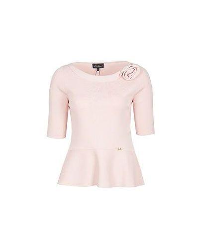 Розовый джемпер Luisa Spagnoli