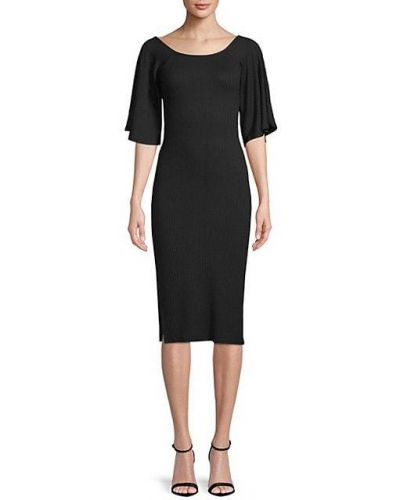 Черное платье с рукавом реглан Rachel Pally