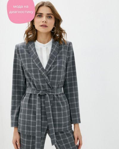 Серый пиджак Rivadu