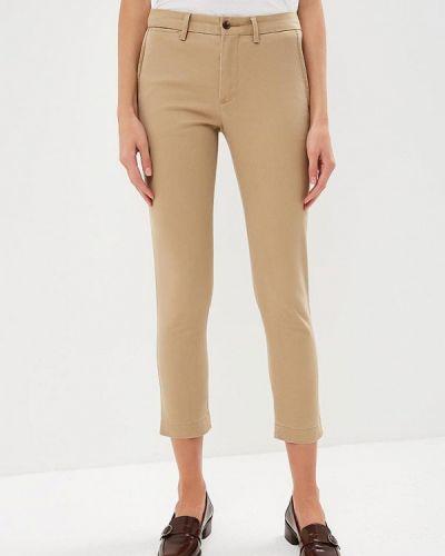 Бежевые брюки повседневные Polo Ralph Lauren