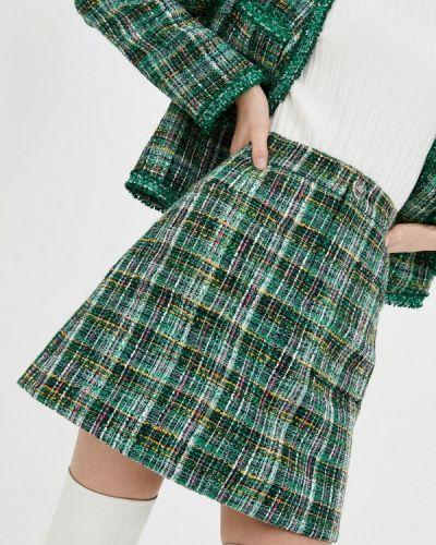 Зеленая юбка свободного кроя Miss Sixty