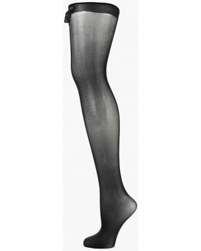 Черные чулки Wolford