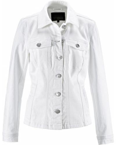 Джинсовая куртка на пуговицах Bonprix
