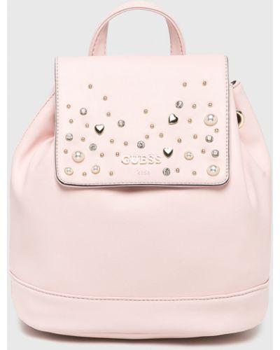 Рюкзак розовый Guess Jeans