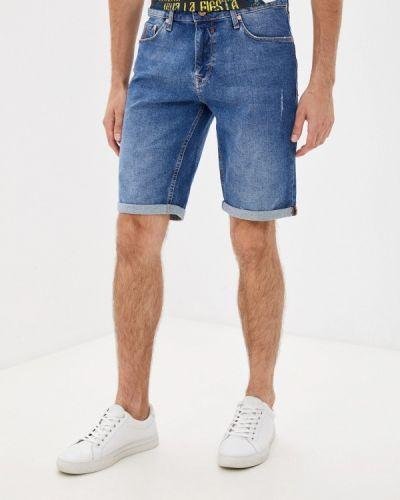 Синие джинсовые шорты Colin's