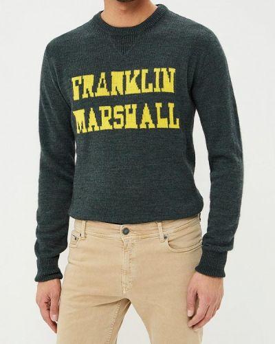 Джемпер - зеленый Franklin & Marshall