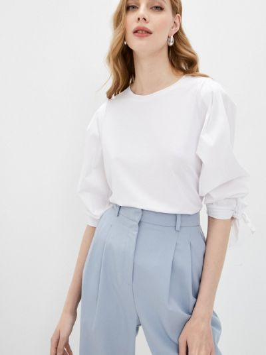 Блузка - белая Sa.l.ko
